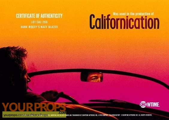 Californication original movie costume