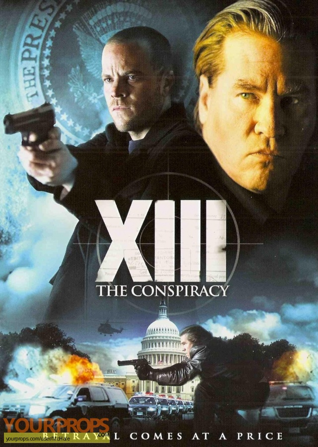 XIII   The Conspiracy replica movie prop