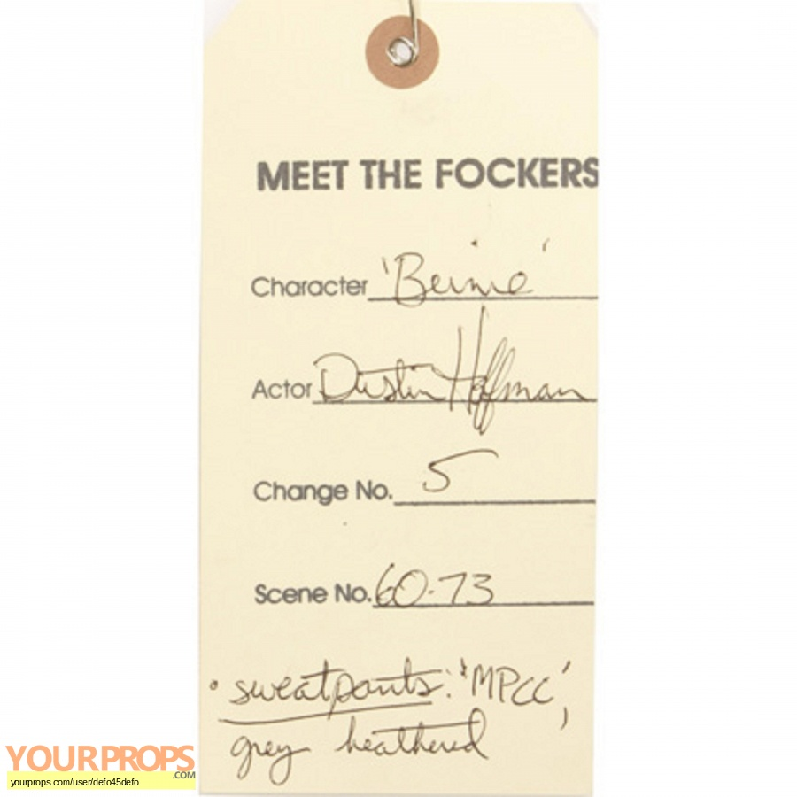 Meet the Fockers original movie costume