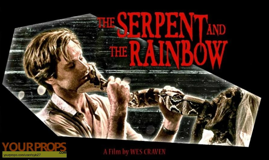 The Serpent and the Rainbow original production material