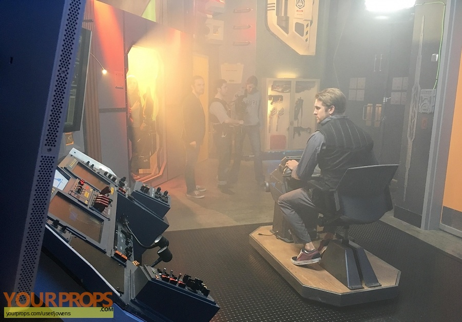 Enders Game original set dressing   pieces