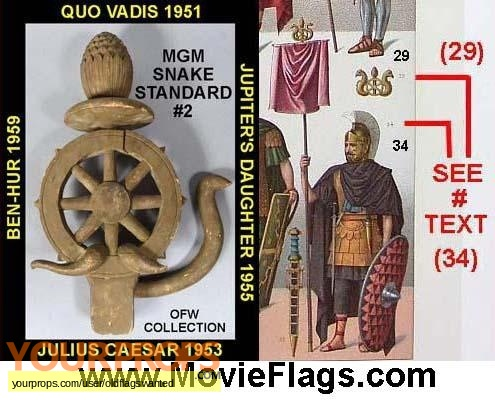 Quo Vadis original movie prop
