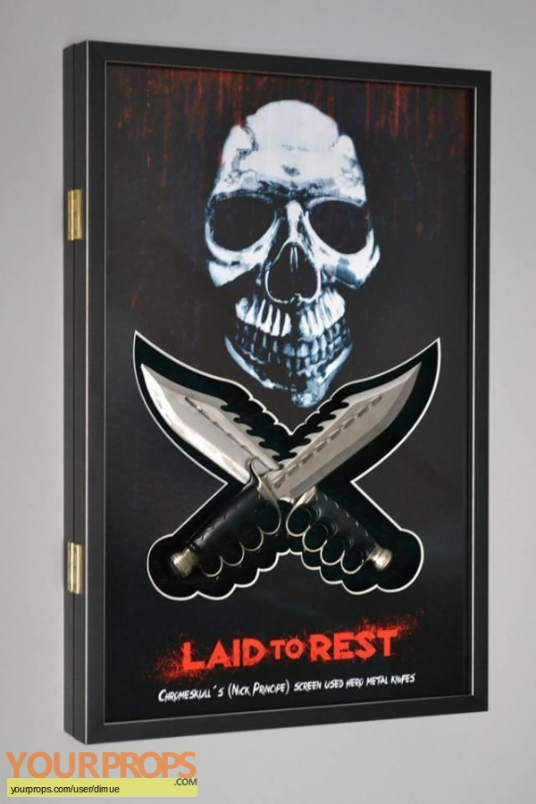 Laid to Rest original movie prop
