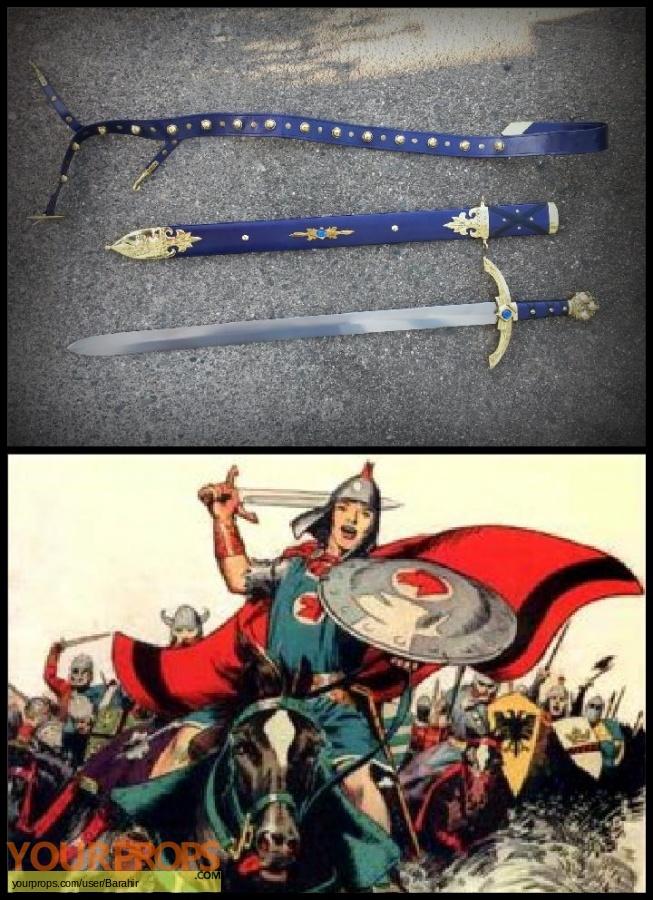 Prince Valiant replica movie prop weapon