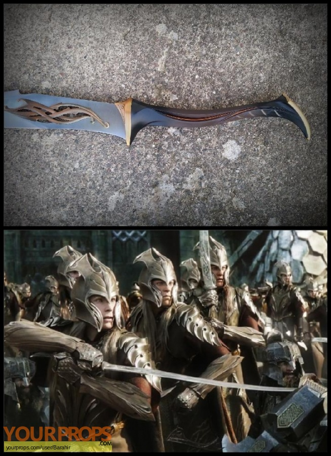 The Hobbit  The Desolation of Smaug United Cutlery movie prop weapon