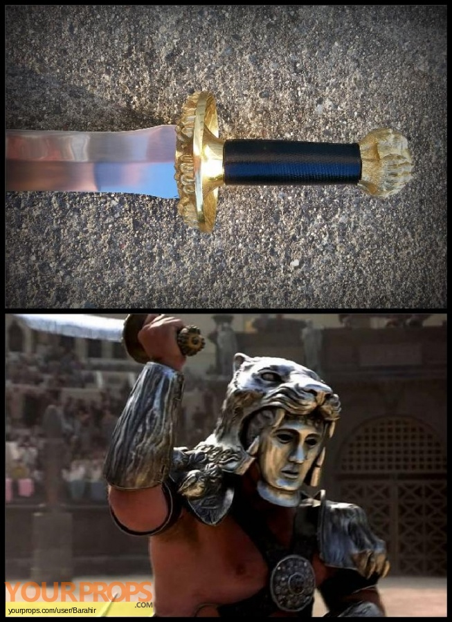 Gladiator Factory X movie prop weapon