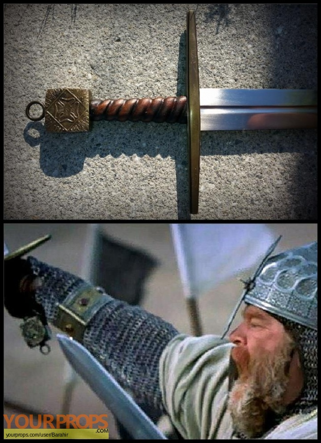 Kingdom of Heaven replica movie prop weapon