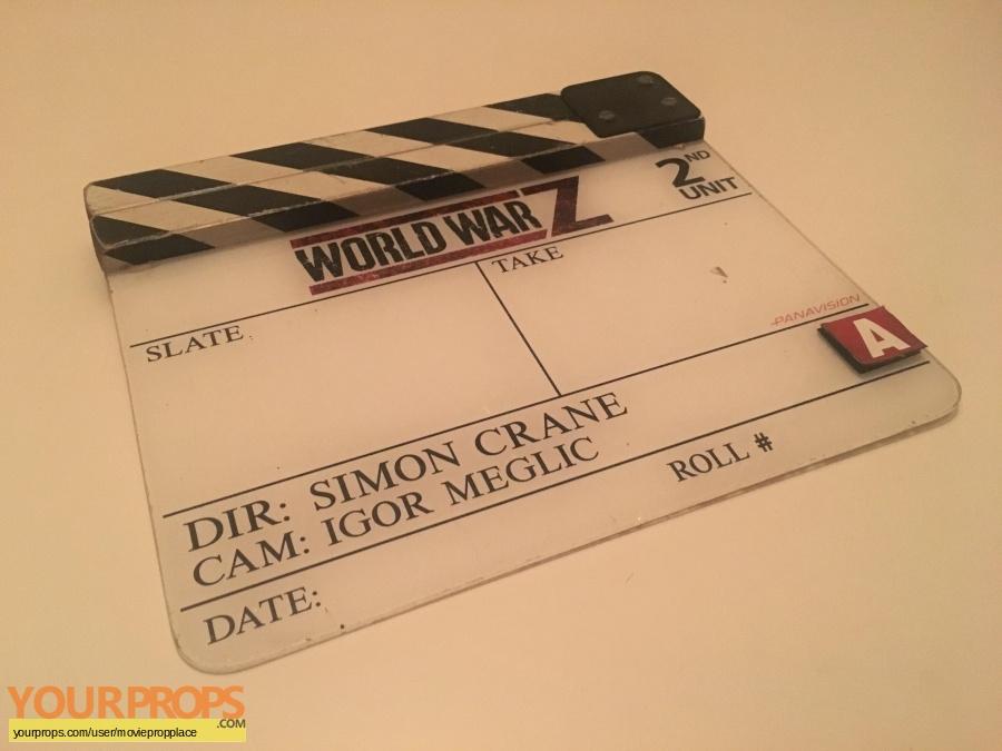 World War Z original production material