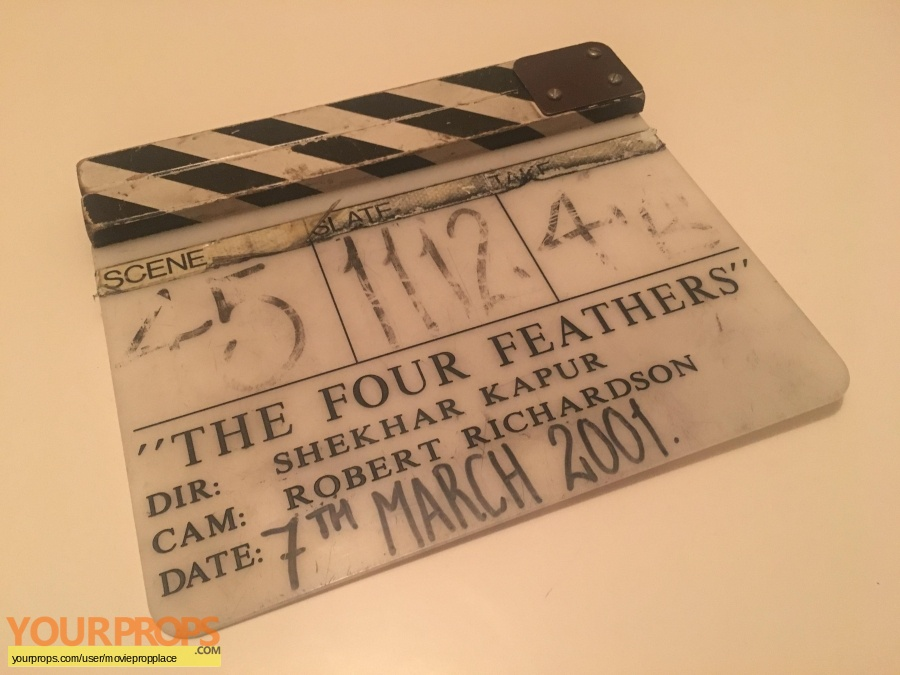 The Four Feathers original production material