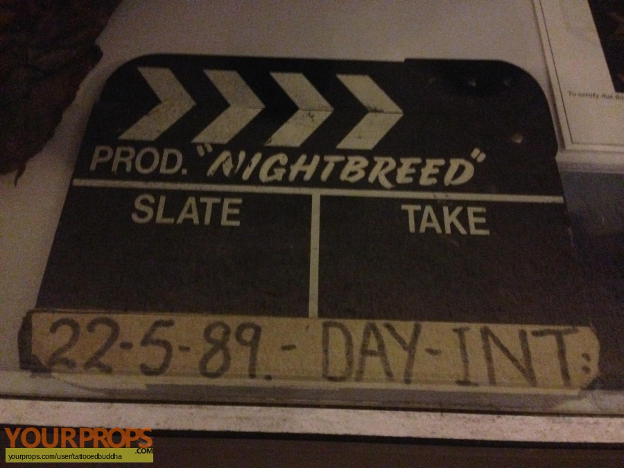 Nightbreed original production material