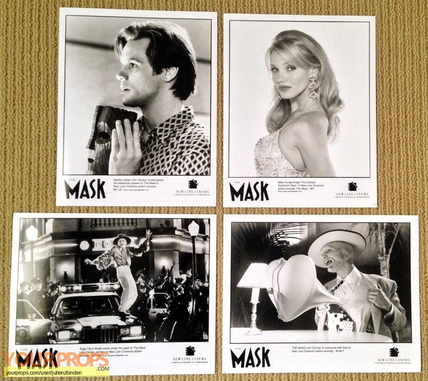The Mask original production material