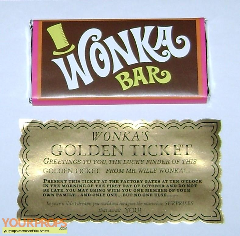 Charlie and the Chocolate Factory replica movie prop
