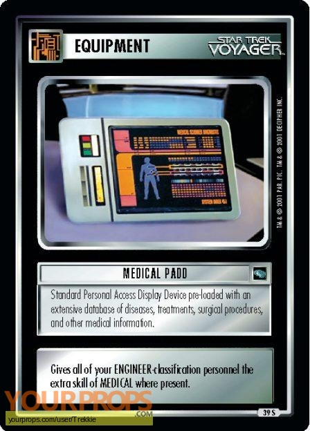 Star Trek  Deep Space Nine  (1993-1999) replica movie prop