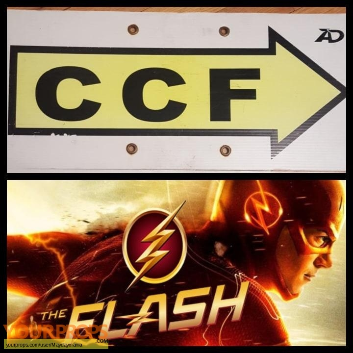 The Flash original production material