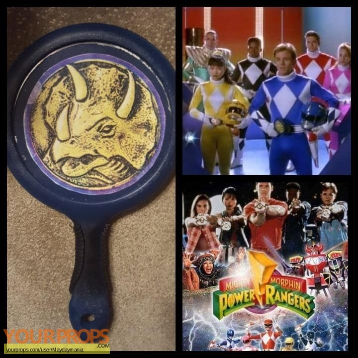 Mighty Morphin Power Rangers original movie prop