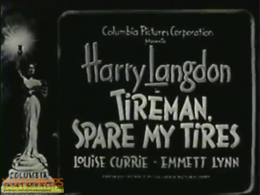 Tireman  Spare My Tires original movie prop