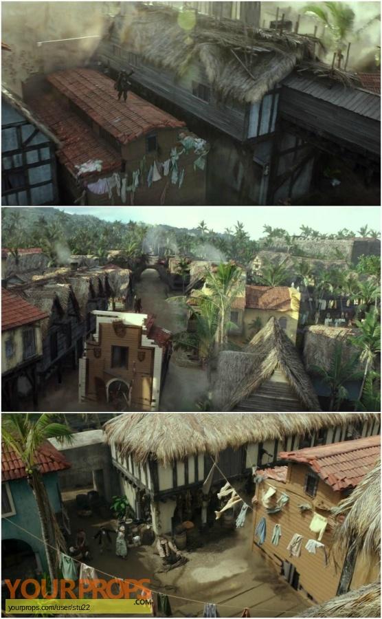 Pirates of the Caribbean  Dead Men Tell no Tales original set dressing   pieces