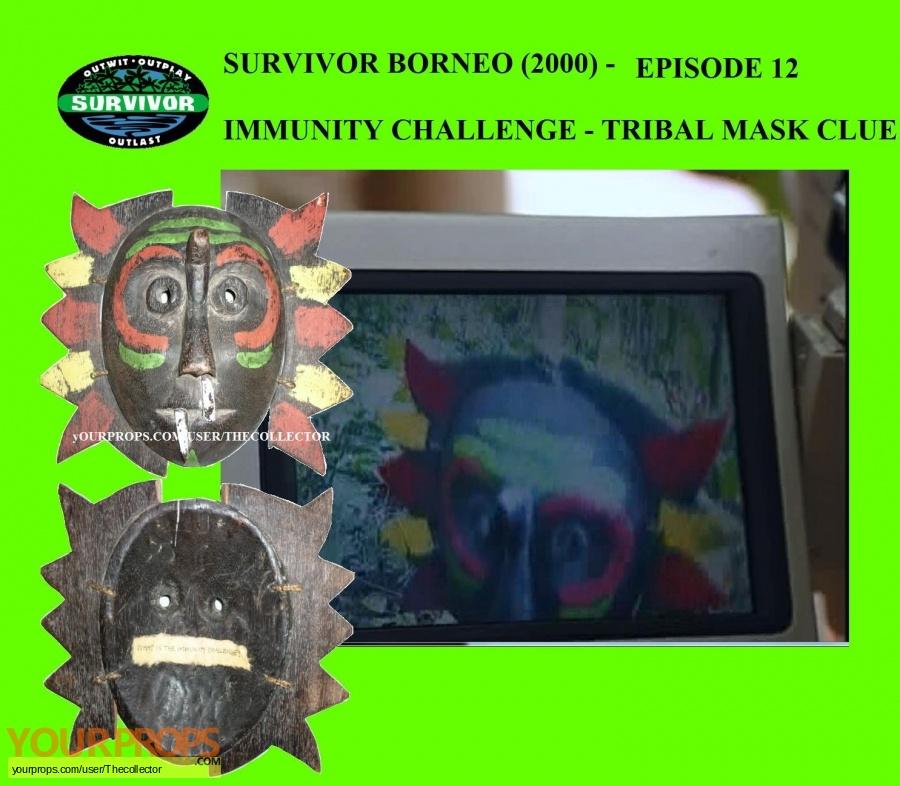 Survivor Borneo original movie prop