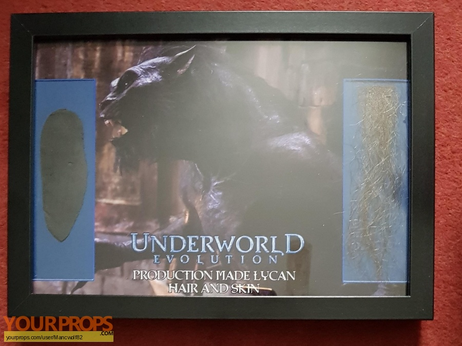 Underworld  Evolution swatch   fragment production material
