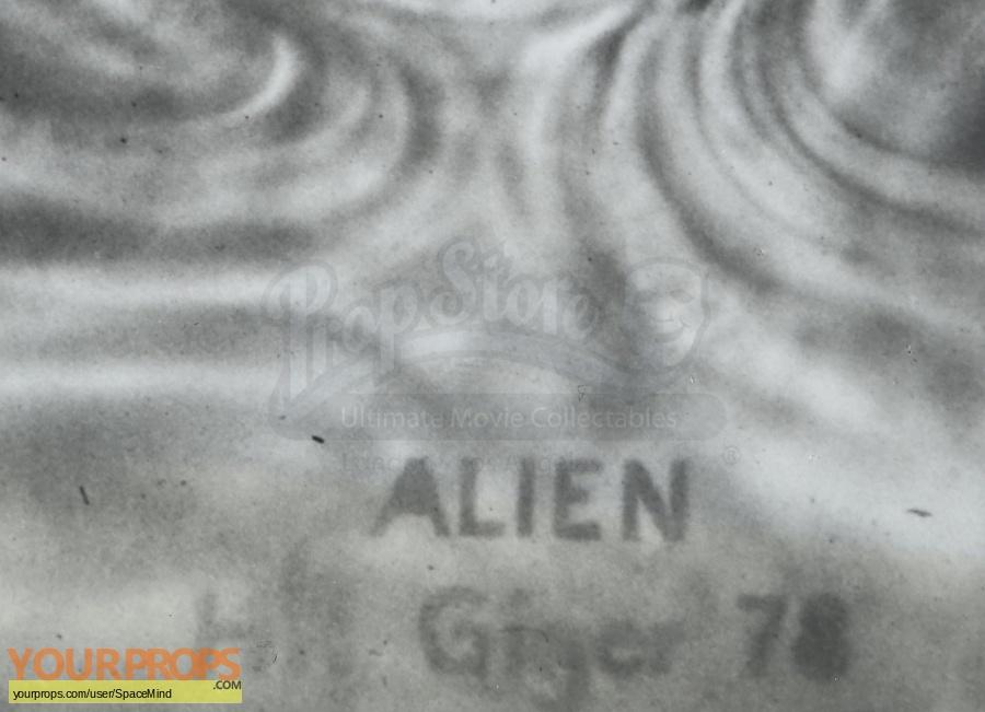 Alien original production material