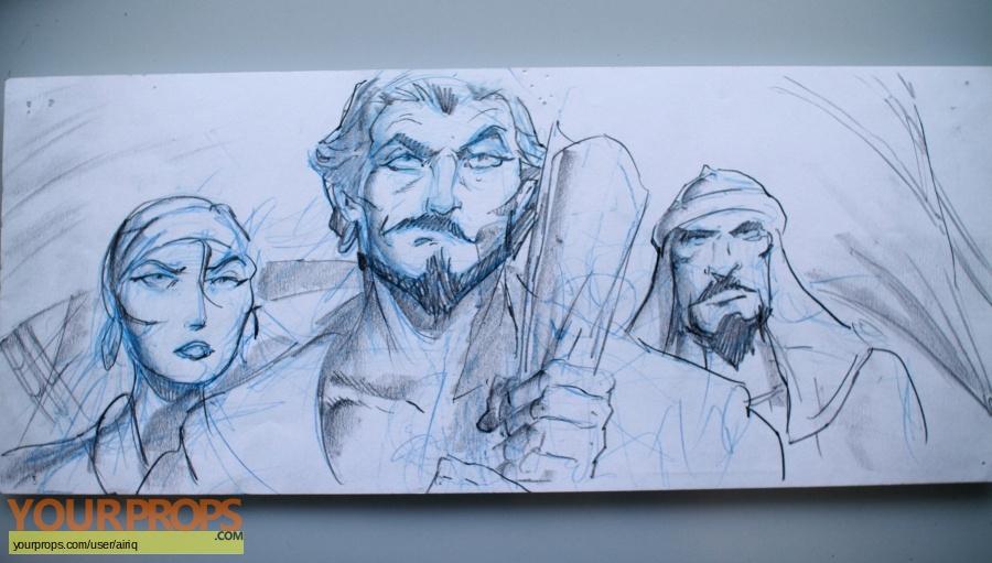 Sinbad  Legend of the Seven Seas original movie prop