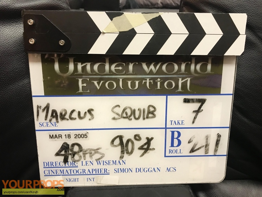 Underworld  Evolution original production material