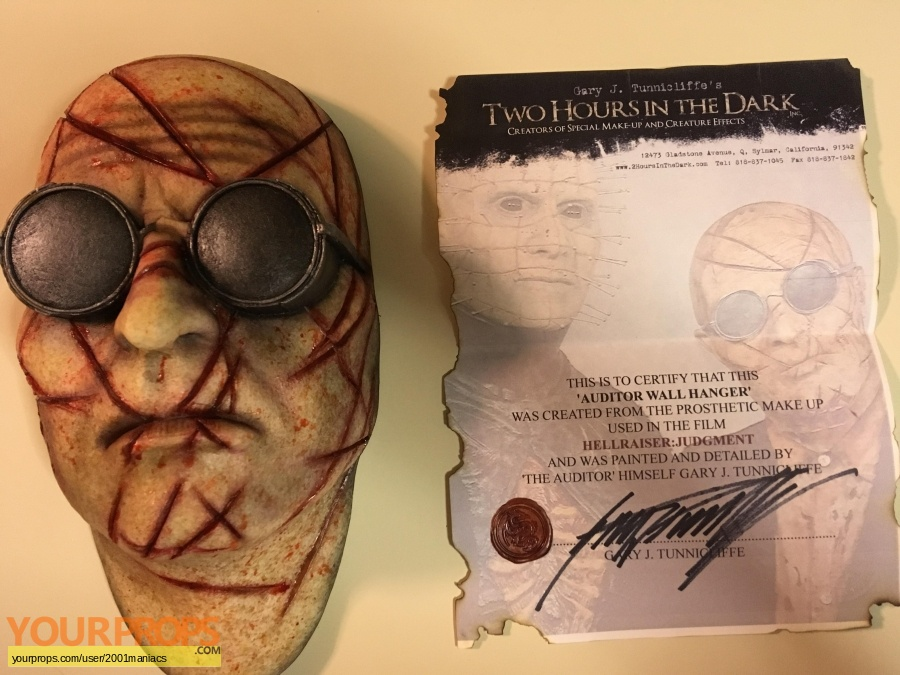 Hellraiser  Judgement replica movie prop