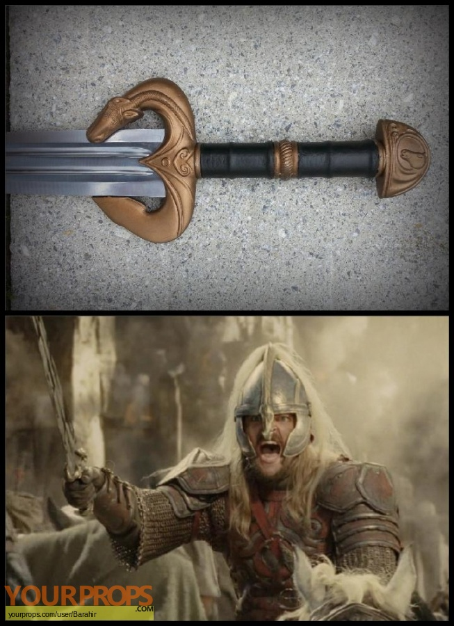 Lord of The Rings  The Two Towers replica movie prop weapon