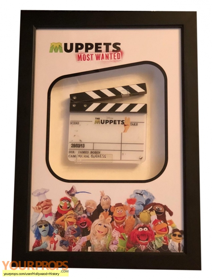 Muppets Most Wanted original production material