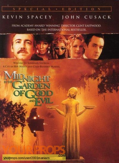 Midnight In The Garden Of Good And Evil replica movie prop
