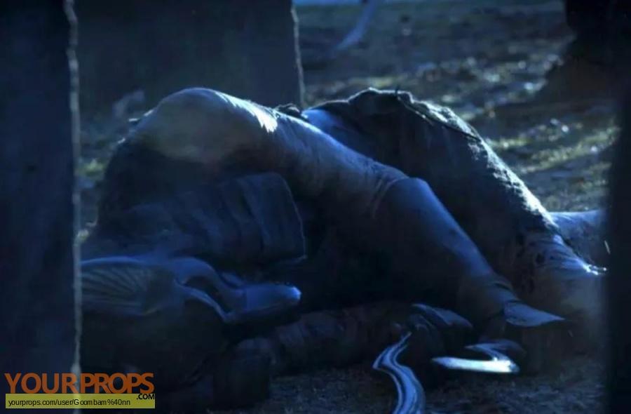 Sleepy Hollow original movie prop weapon