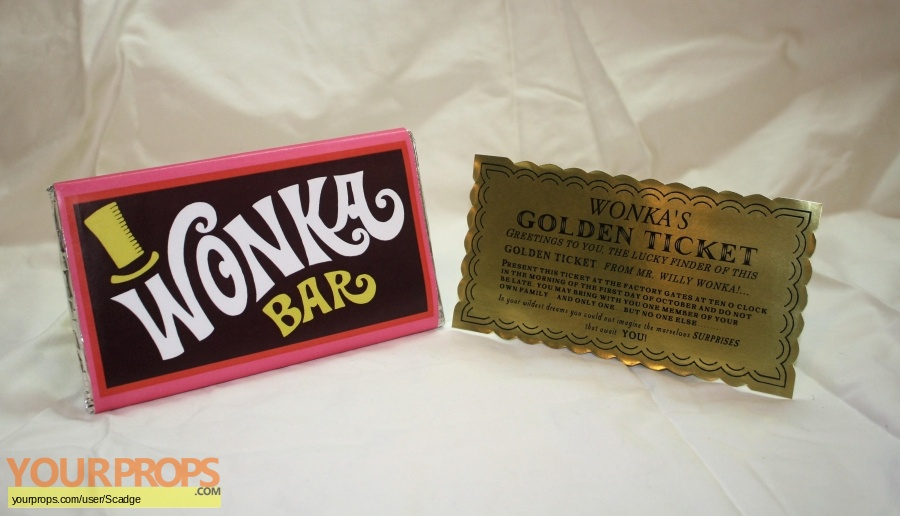 Willy Wonka and The Chocolate Factory made from scratch movie prop