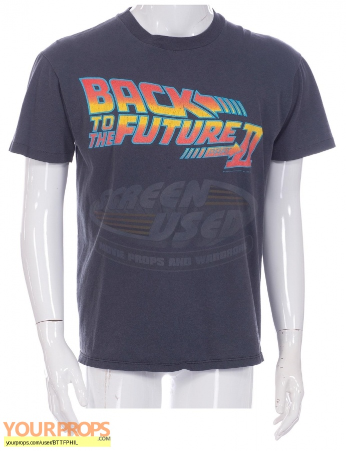 Back To The Future 2 original film-crew items