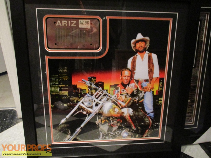 Harley Davidson and The Marlboro Man original movie prop