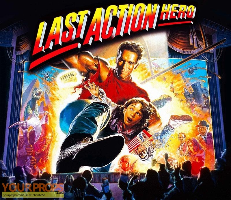 Last Action Hero original production artwork