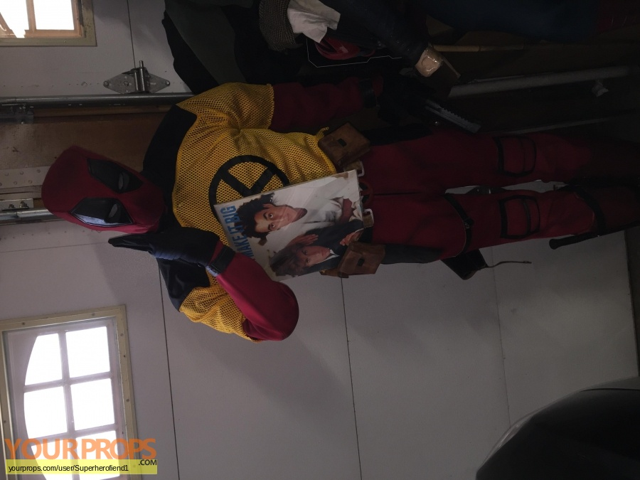 Deadpool 2 made from scratch movie costume