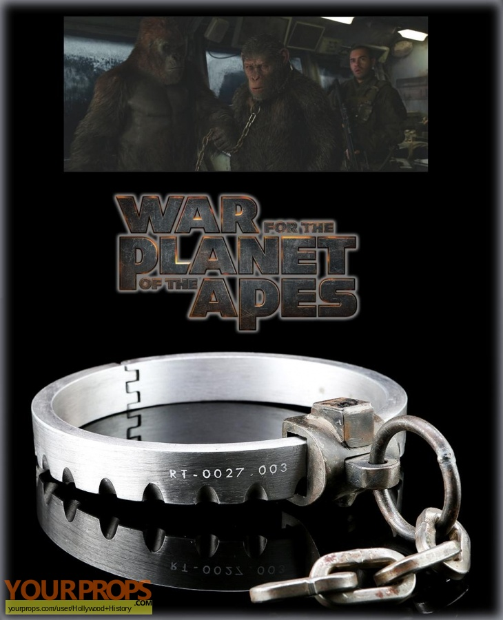 War for the Planet of the Apes original movie prop