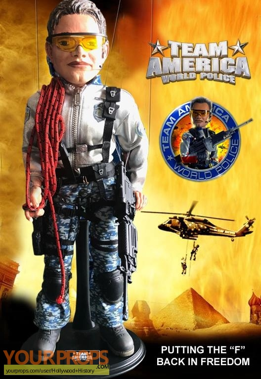 Team America  World Police original movie prop