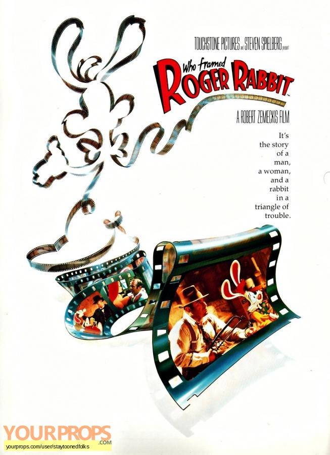 Who Framed Roger Rabbit original film-crew items