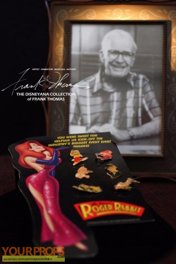 Who Framed Roger Rabbit original film-crew items