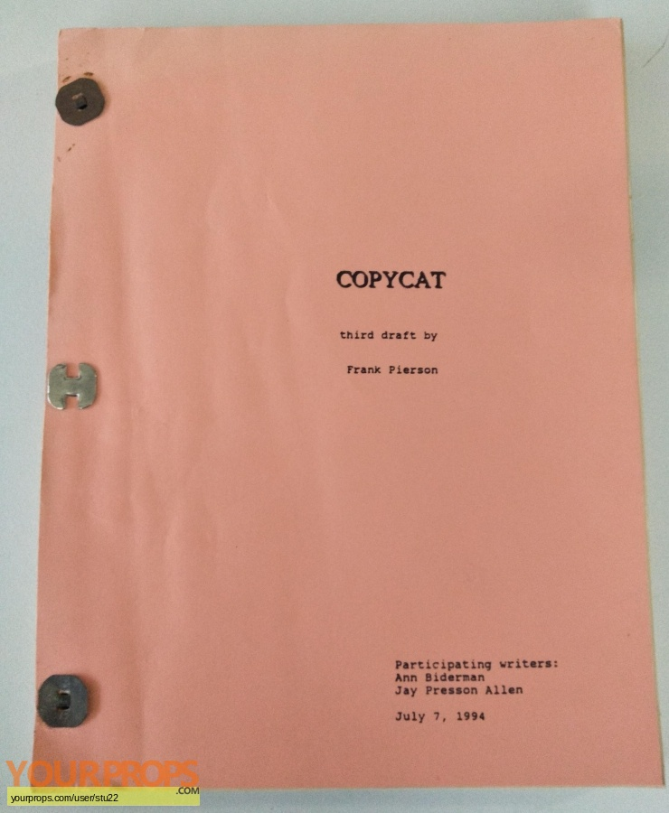 Copycat original production material