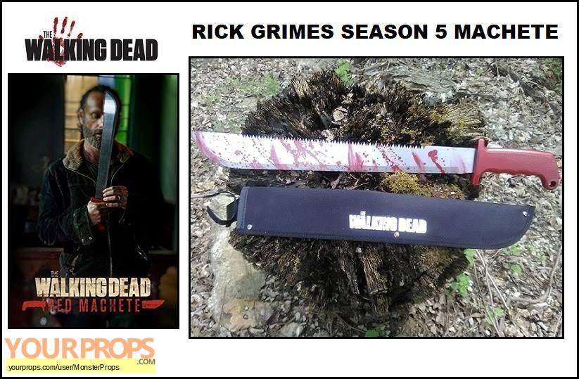 The Walking Dead replica movie prop