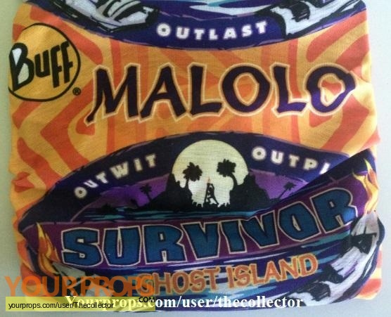Survivor Ghost Island original movie prop