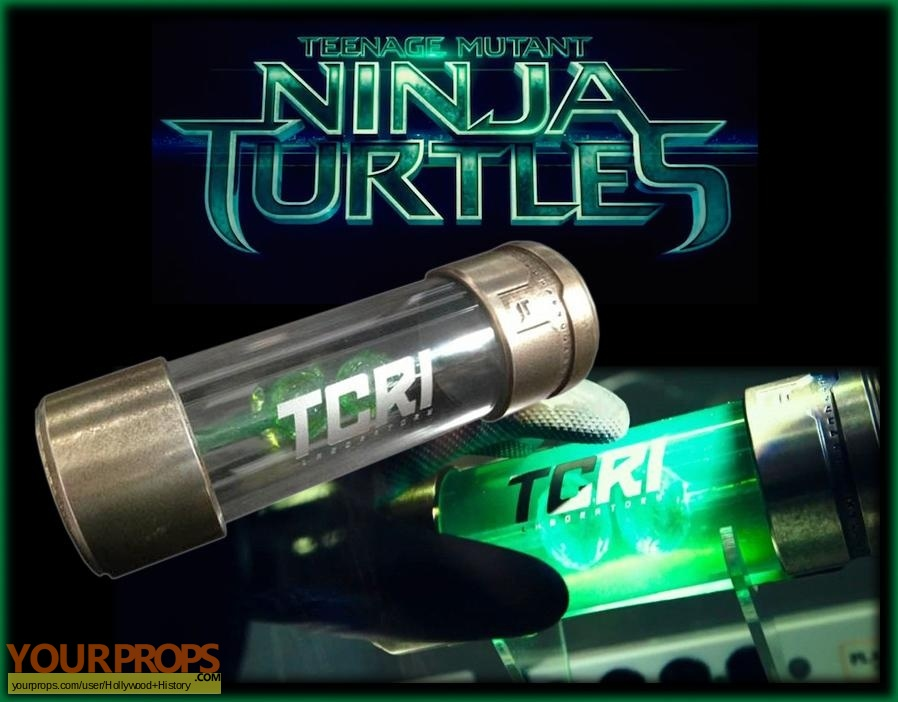 Teenage mutant ninja turtles original movie prop