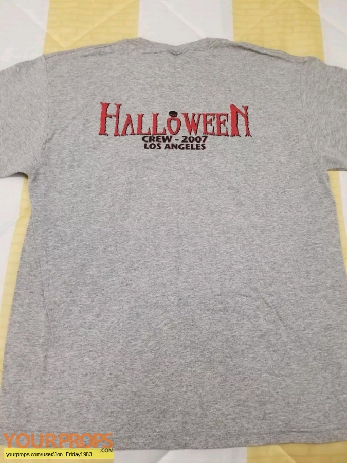 Halloween (Rob Zombies) original film-crew items
