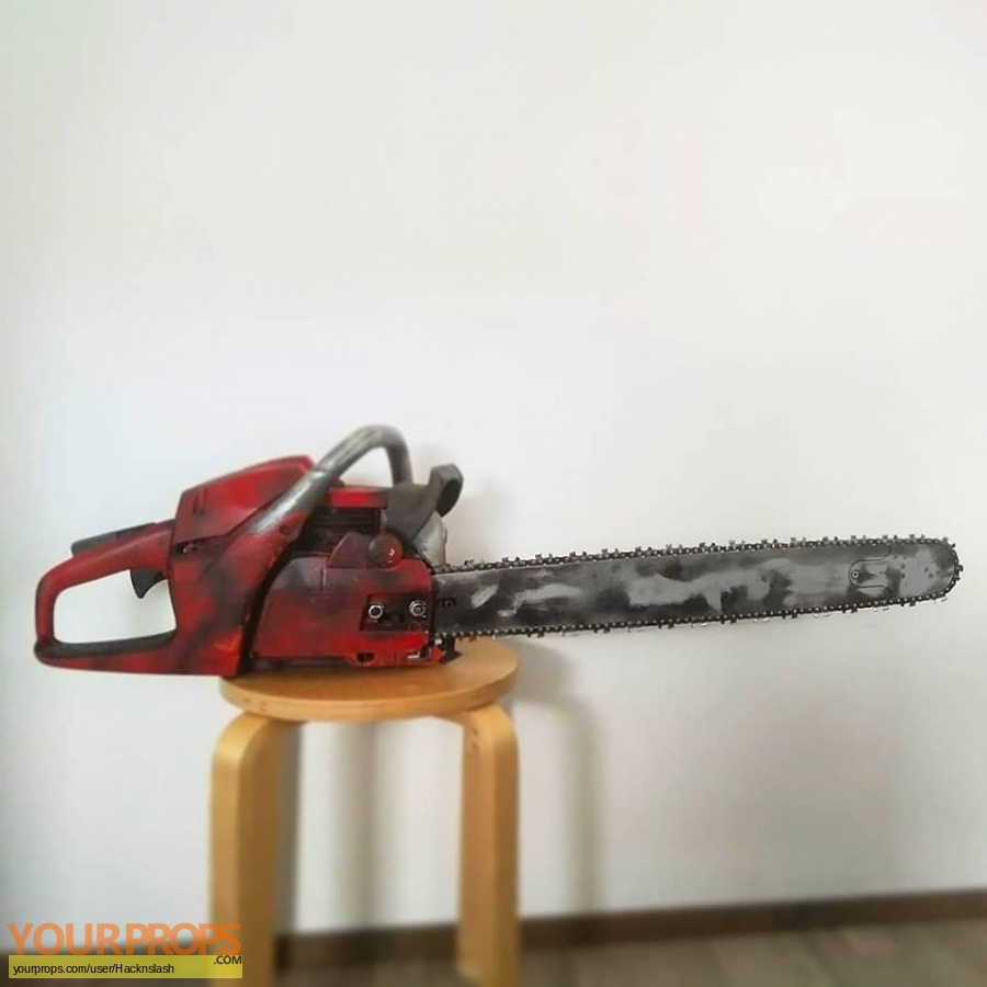 Texas Chainsaw Massacre 3D replica movie prop weapon
