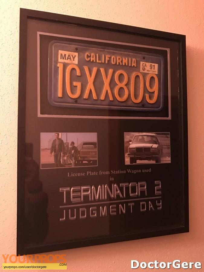 Terminator 2  Judgment Day original movie prop