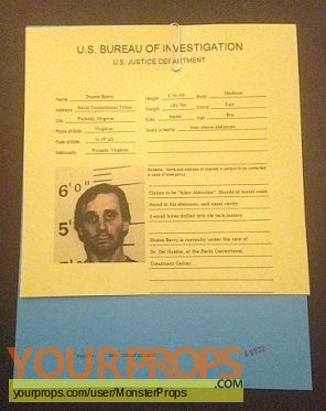 The X Files replica movie prop