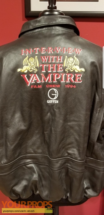 Interveiw with a vampire original film-crew items