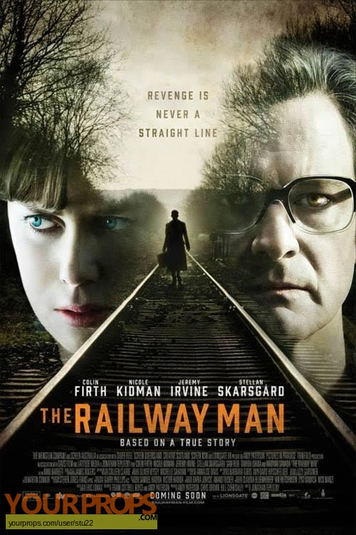 The Railway Man original movie prop